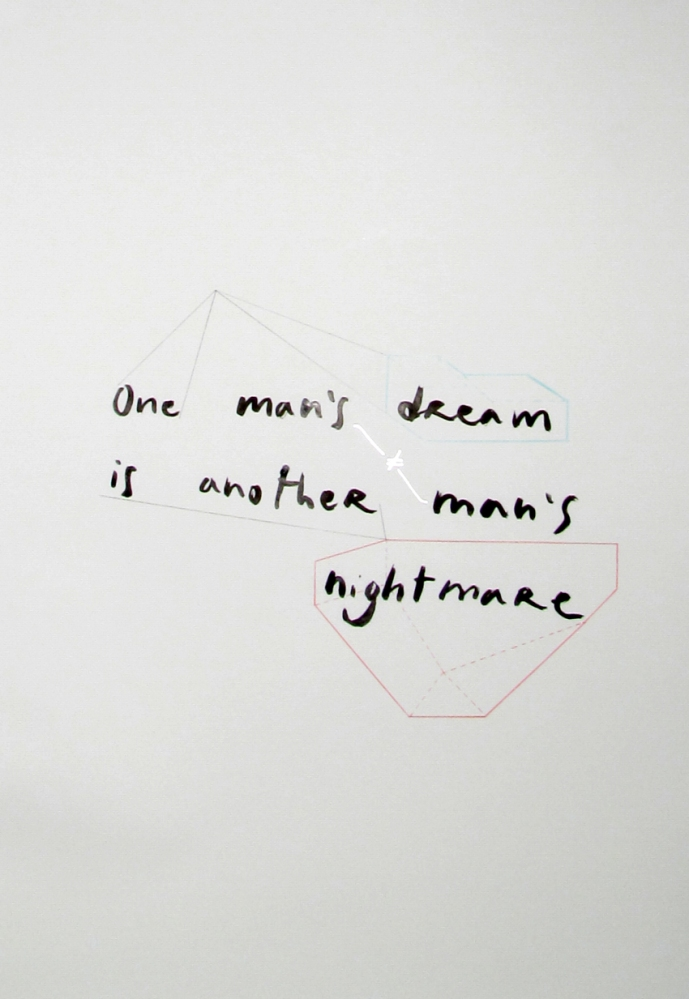 One man's dream is another man's nightmare (1/2)