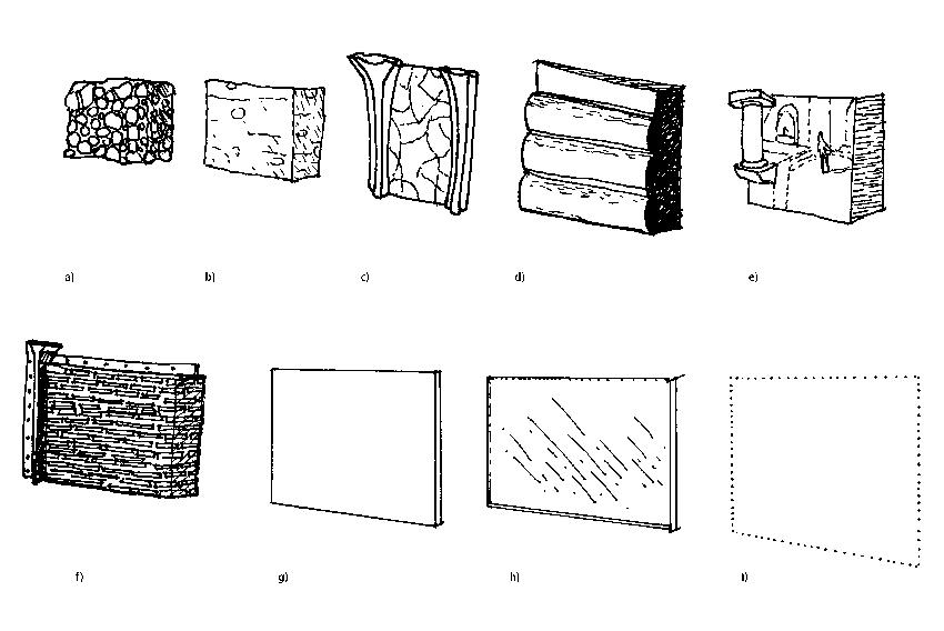 Die Wand - Eine Evolutionskette in der Architekturgeschichte (2/5)